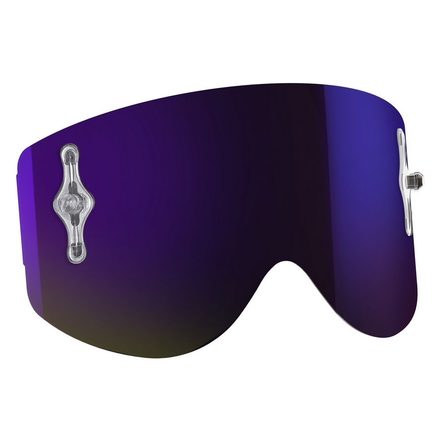 Replacement lens for Recoil XI / 80'S goggles - Purple chrome afc