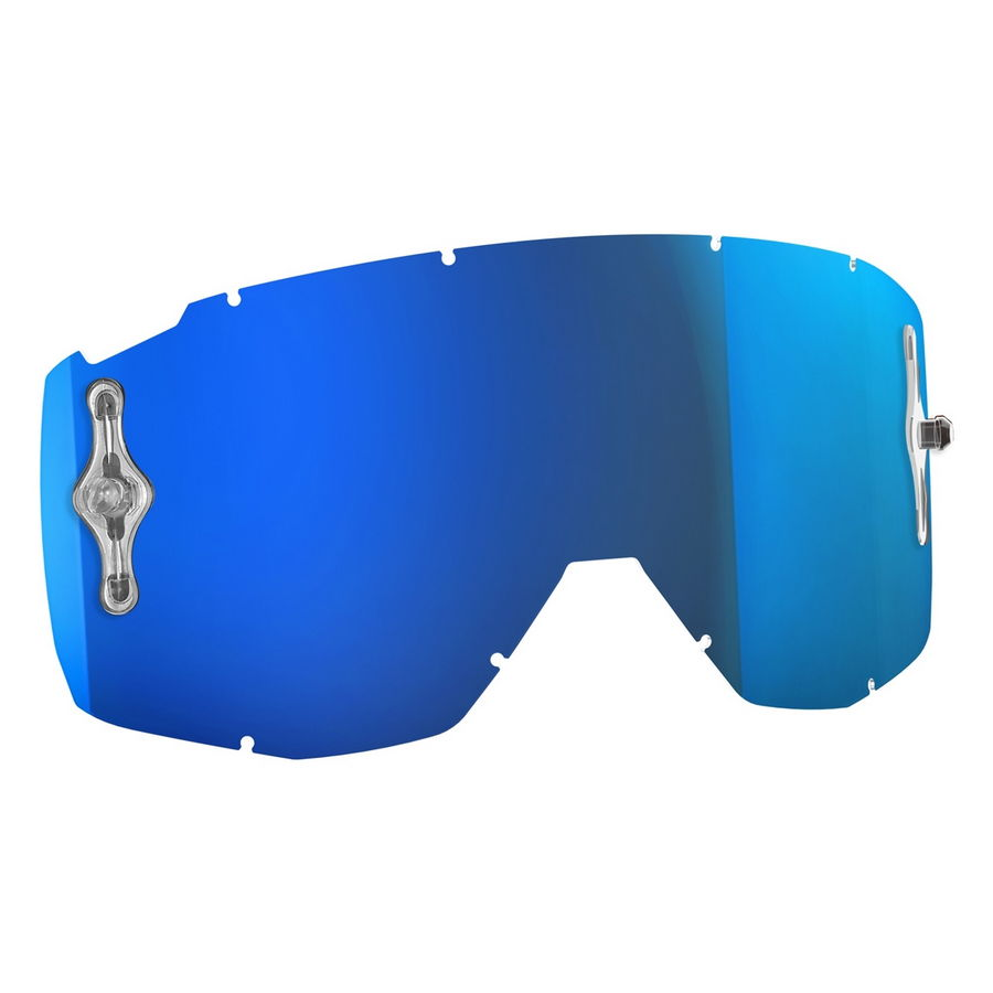 Replacement lens for HUSTLE/PRIMAL/SPLIT OTG/TYRANT goggles - Electric blue chrome afc