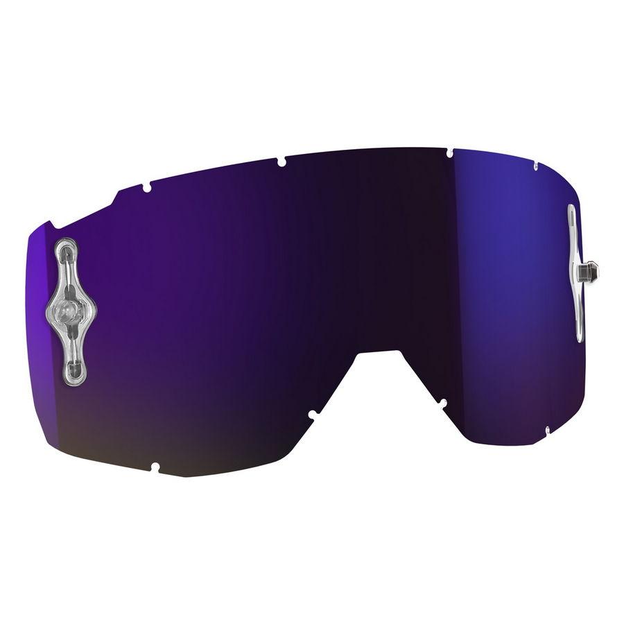 Replacement lens for HUSTLE/PRIMAL/SPLIT OTG/TYRANT goggles - Purple chrome afc