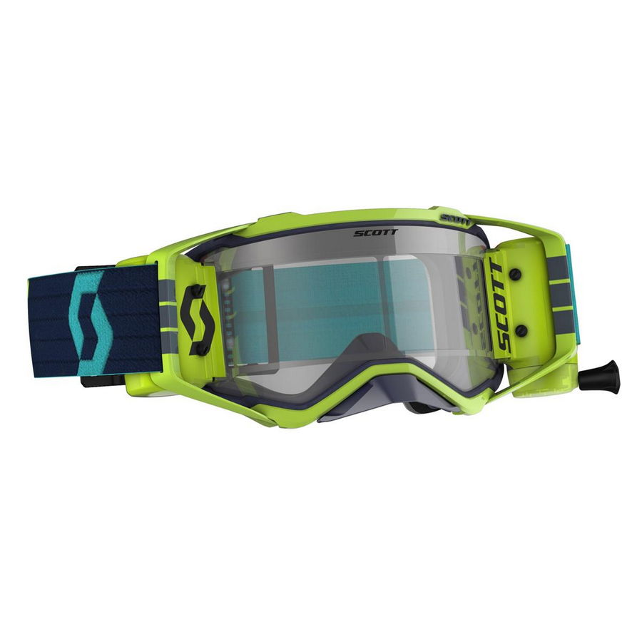 Prospect goggle WFS roll-off included Blue Yellow - Visor clear Works