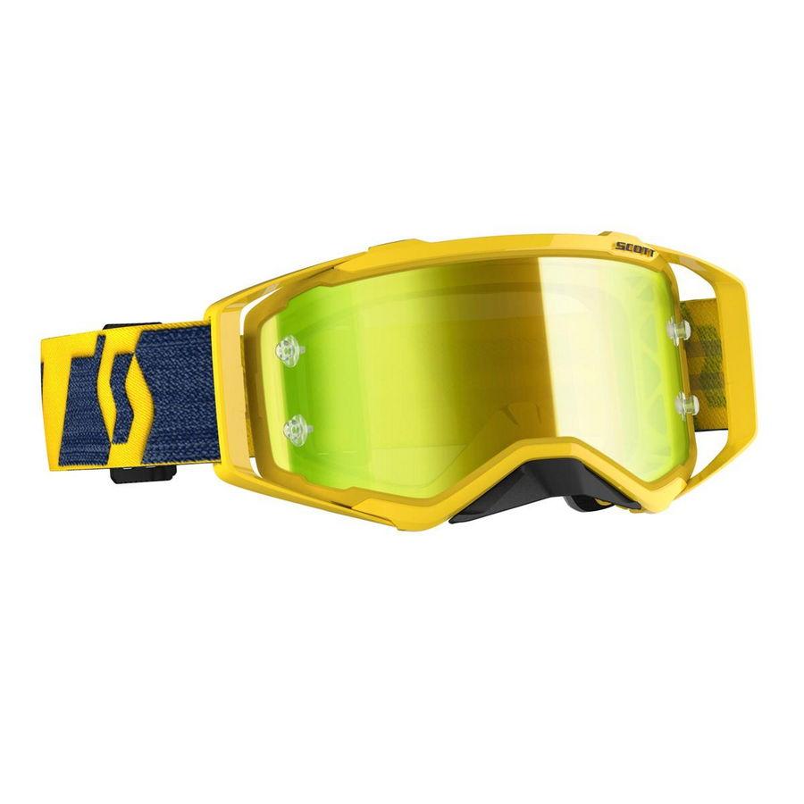 Prospect goggle 2021 Yellow Yellow - Visor Yellow chrome Works