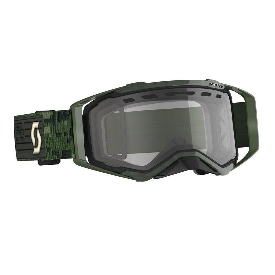 Prospect goggle Endulo Kaki Green - Clear Visor