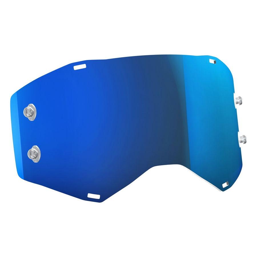 Lente di ricambio per maschere PROSPECT/FURY - Electric blue chrome afc Bike