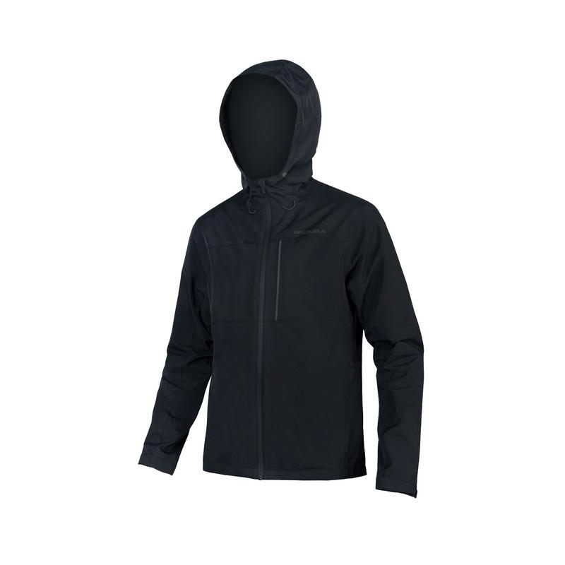 Hummvee Waterproof Hooded Jacket Black Size M