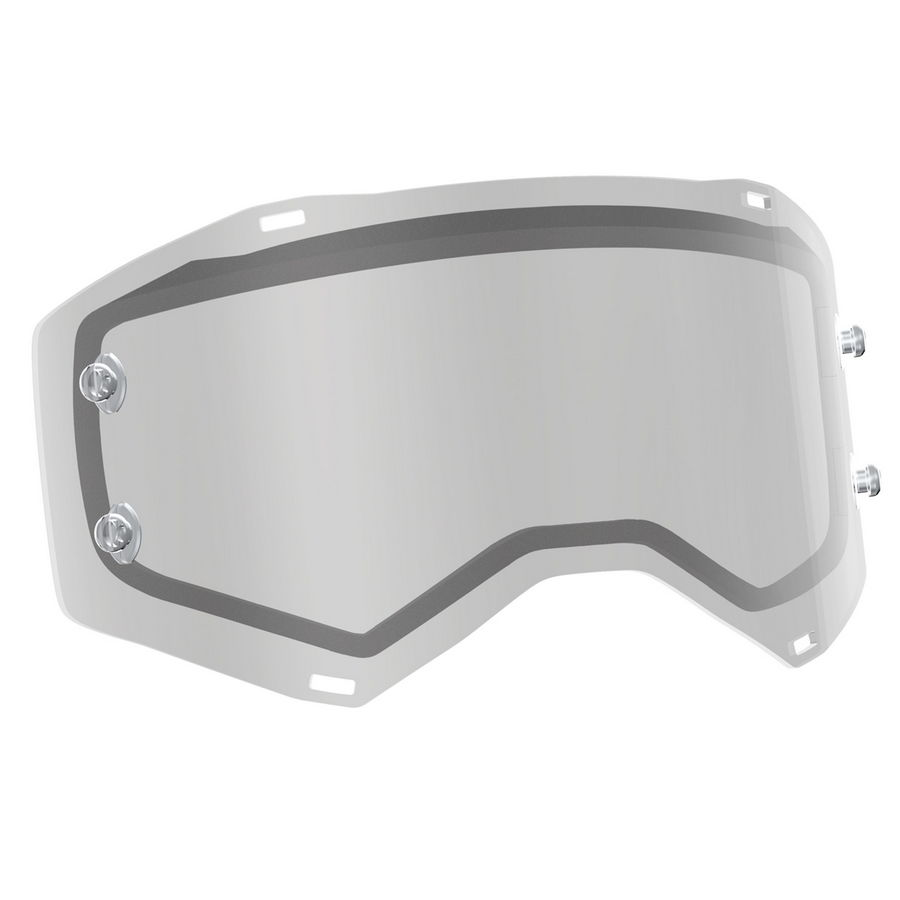Replacement Double lens for PROSPECT/FURY Goggles - Clear Antifog