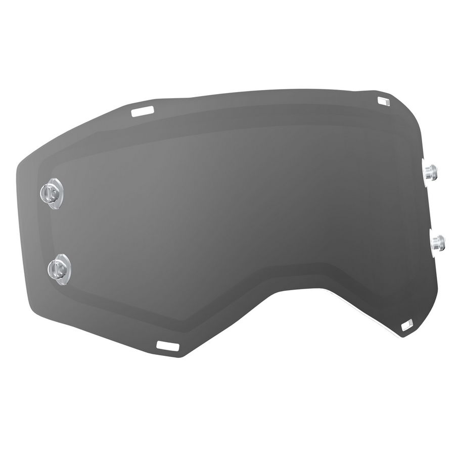 Replacement Double lens for PROSPECT/FURY Goggles - Grey Antifog
