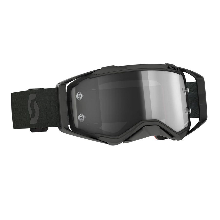 Prospect goggle Light Sensitive Ultra Black - Light sensitive visor Grey Works