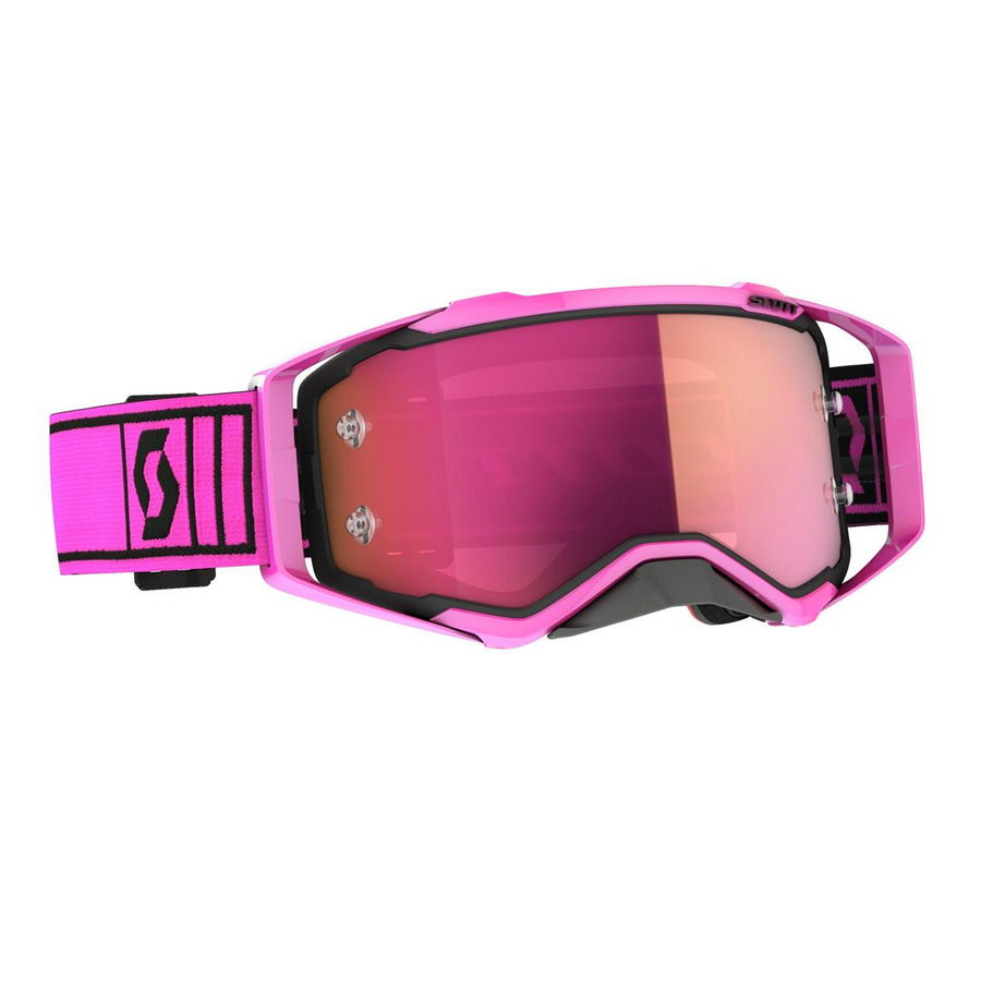Prospect goggle 2021 Pink Black red - Visor Pink chrome Works