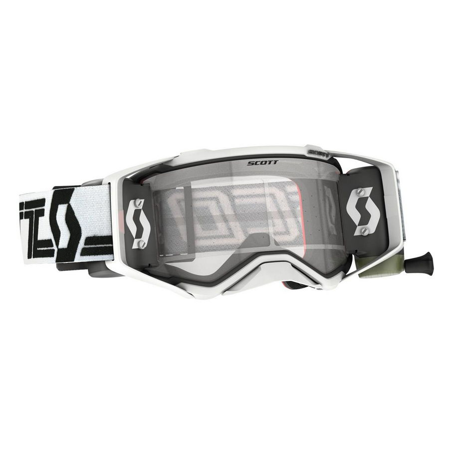 Prospect goggle WFS roll-off included Black white - Visor clear Works