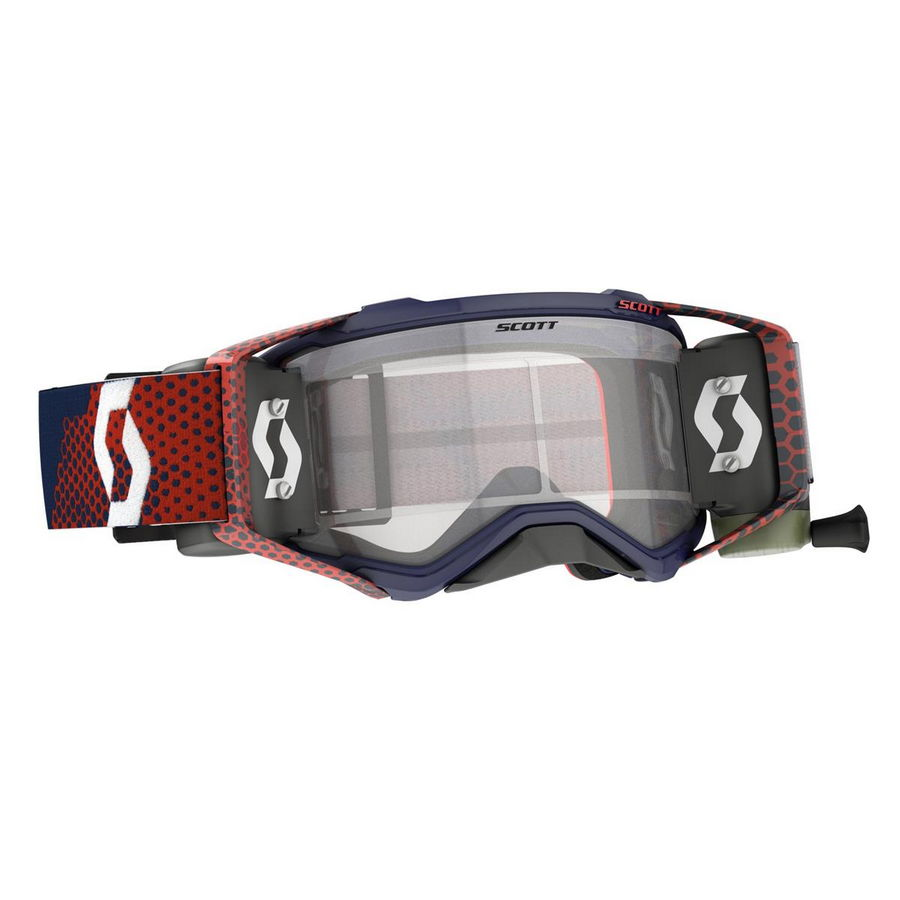 Prospect goggle WFS roll-off included Red Blue - Visor clear Works