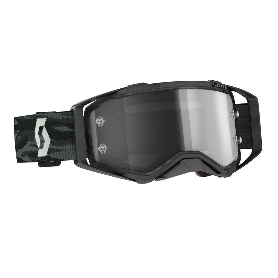 Maschera Prospect Sand Dust LS Mimetico Grigio - Visiera Fotocromatica grey Bike