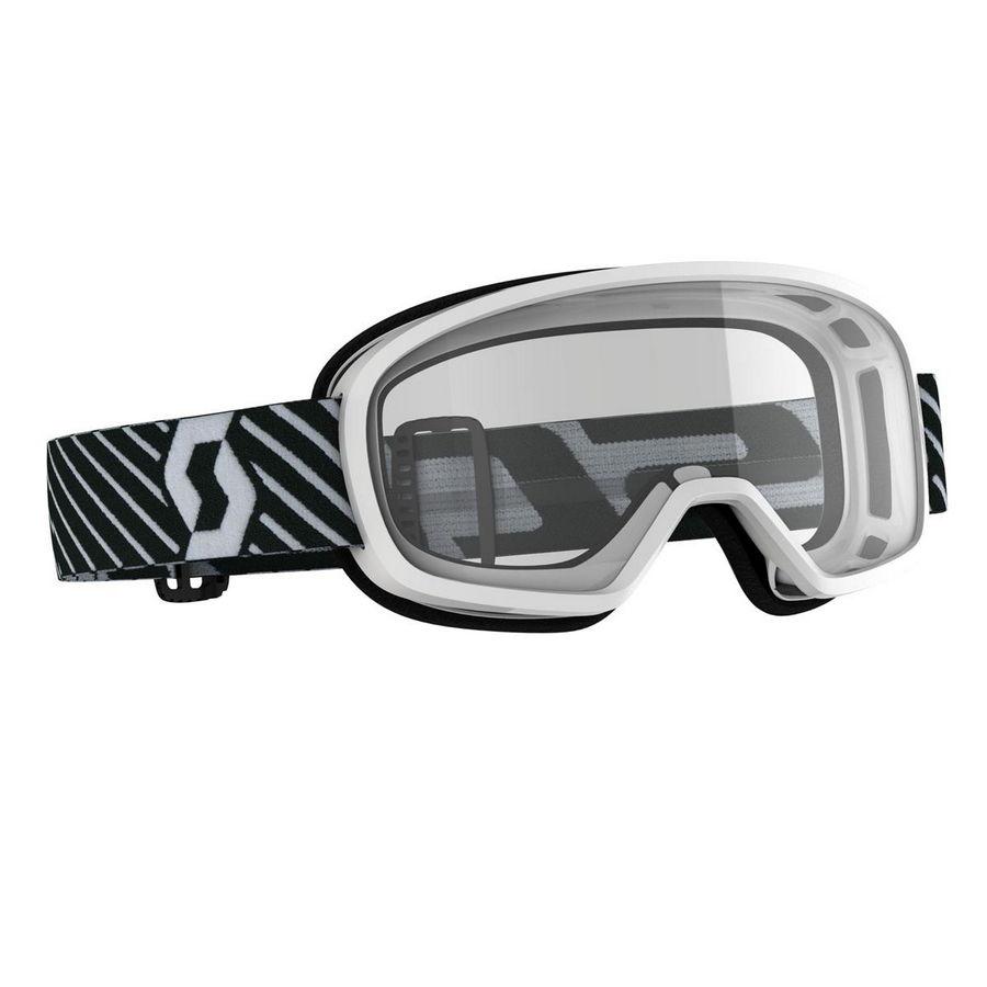 Maschera Buzz Bianco - Lente trasparente