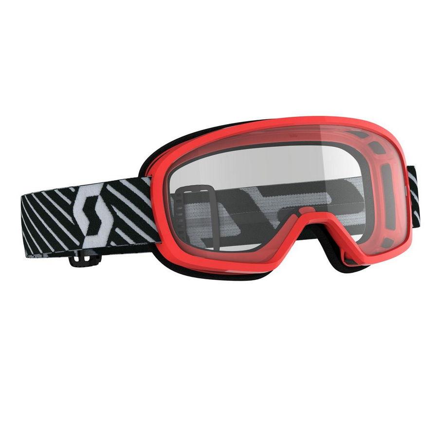 Buzz goggle Red - Visor clear Bike