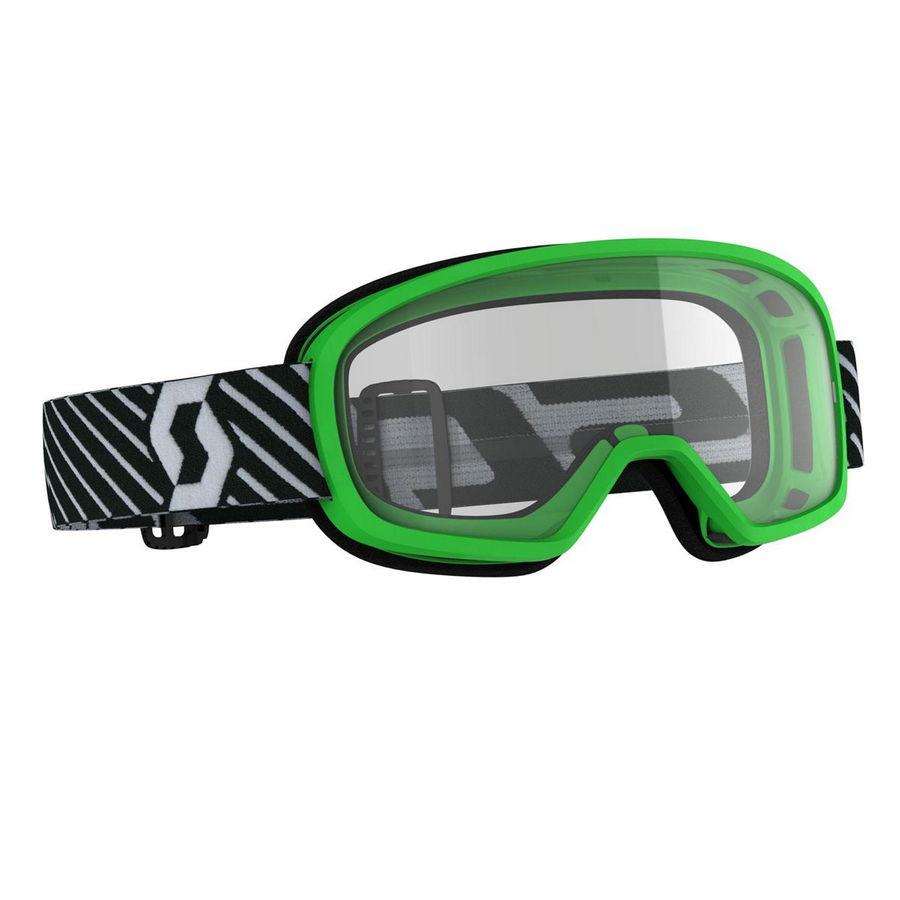 Buzz junior goggle Green - Visor clear