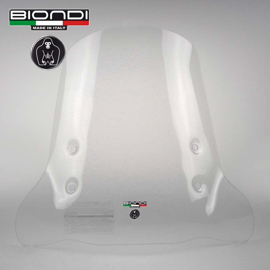 Parabrezza Aprilia SR Honda Dio Zoomer MBK Booster NIU Piaggio NRG Yamaha BWS senza attacchi