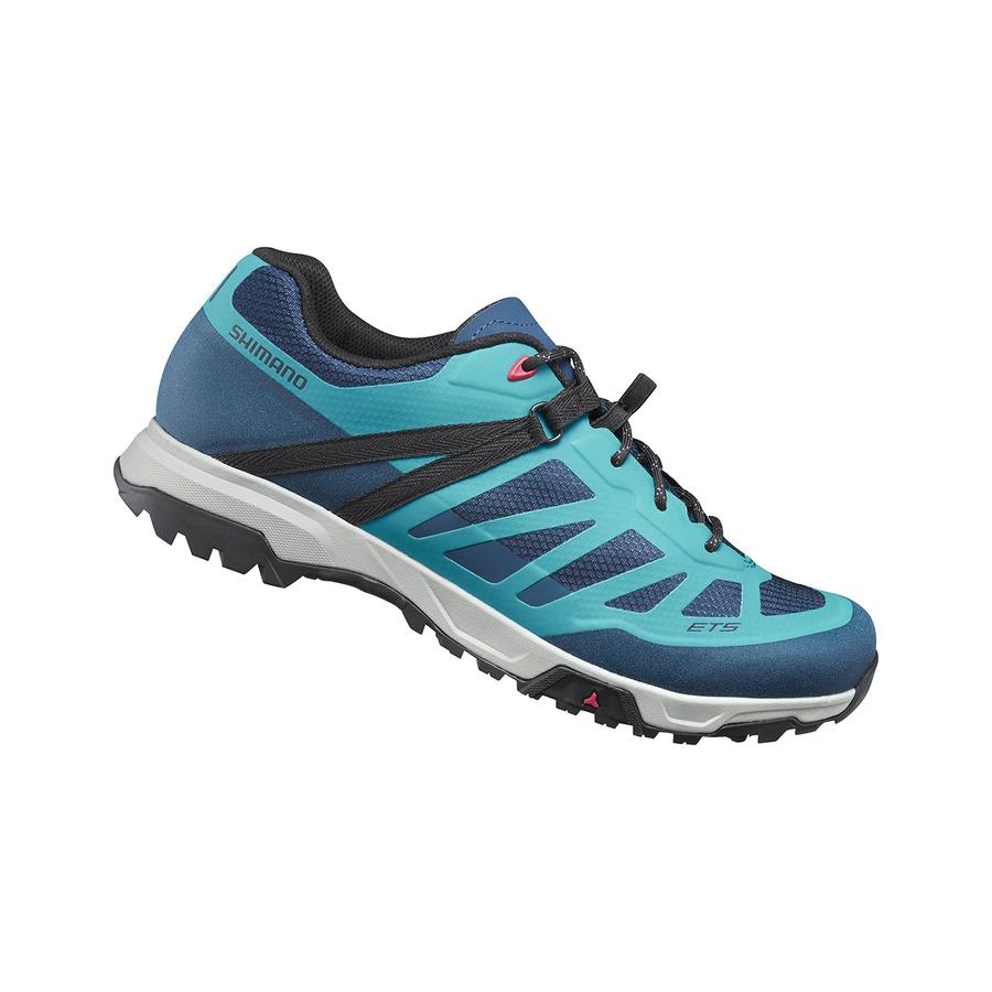 Mtb Flat Shoes ET5 SH-ET500 Woman Blue Size 36