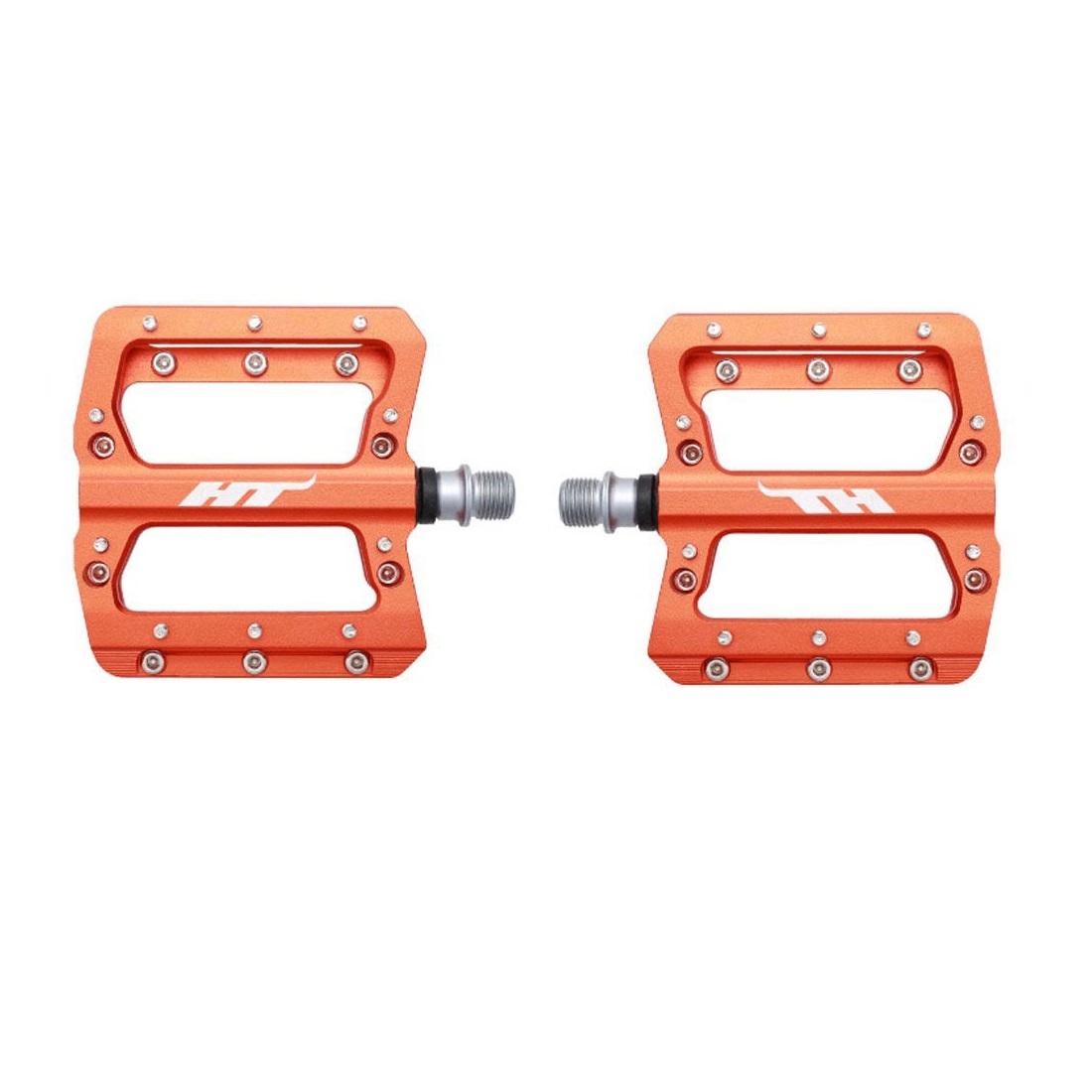 Coppia Pedali Flat AN14A arancione