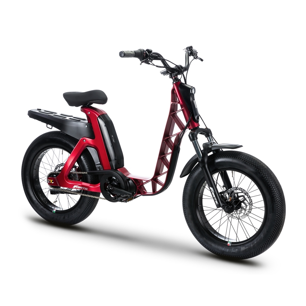 ISSIMO Urban 20'' 80mm 5s Bafang M500 630wh Red