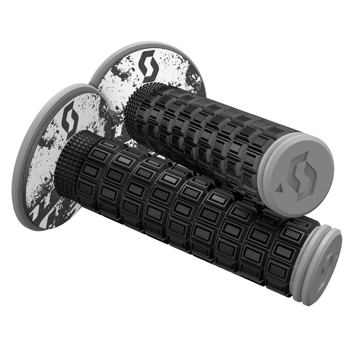 Mellow & Donut Off-road grips Black/Grey