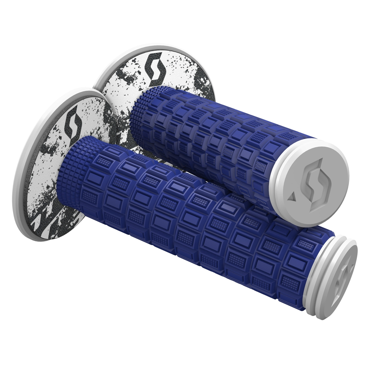Mellow & Donut Off-road grips Blue/White