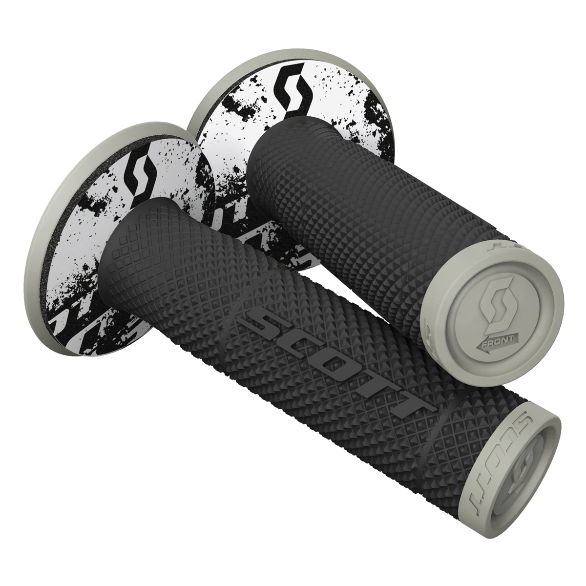 SX II & Donut Off-road grips Black/Grey