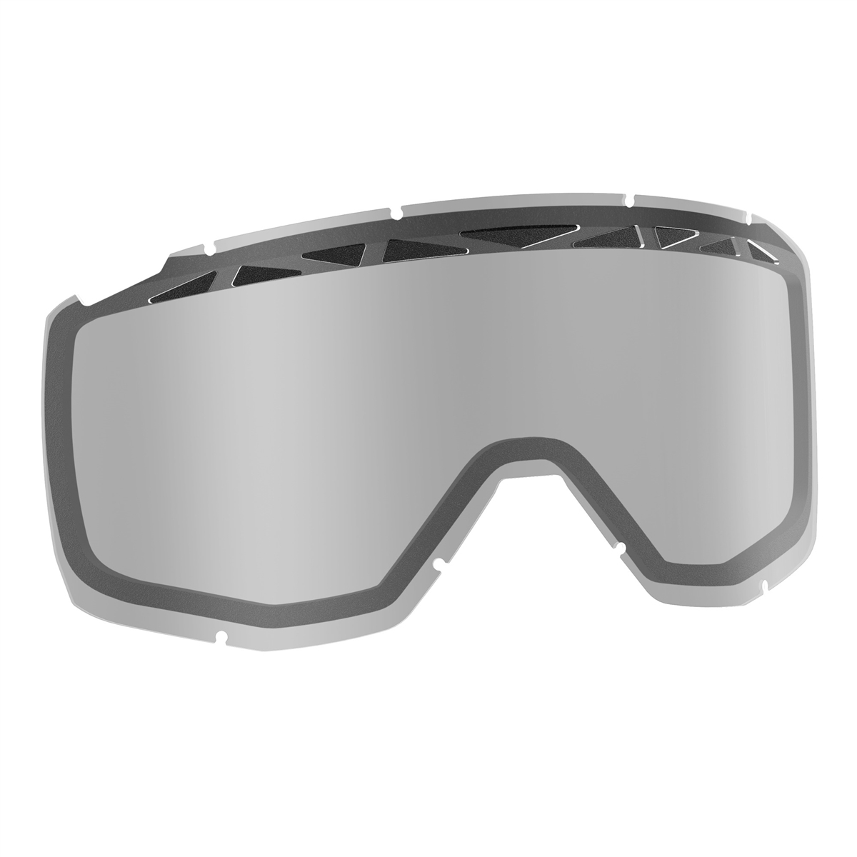 Replacement Double lens with ACS for HUSTLE/PRIMAL/SPLIT OTG/TYRANT Goggles - Clear Antifog