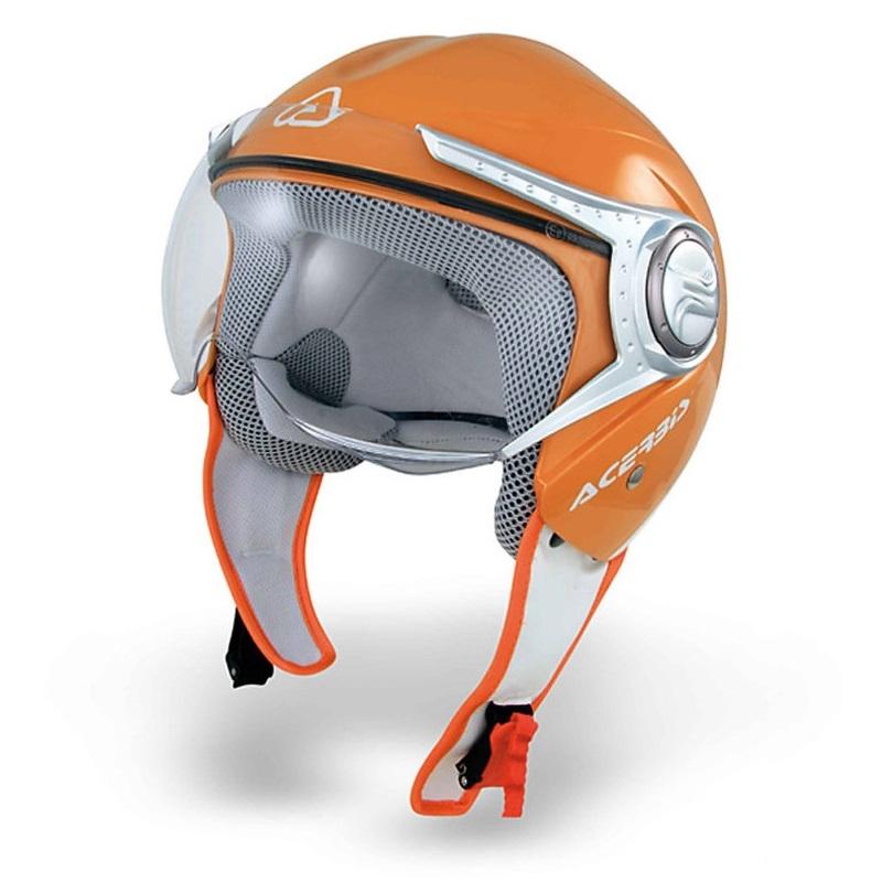 Jet Helmet Nano Orange / White Size M