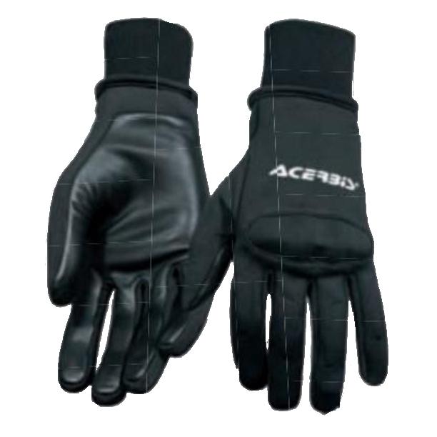 Hurricane waterproof windproof gloves with protectors - Black XXL