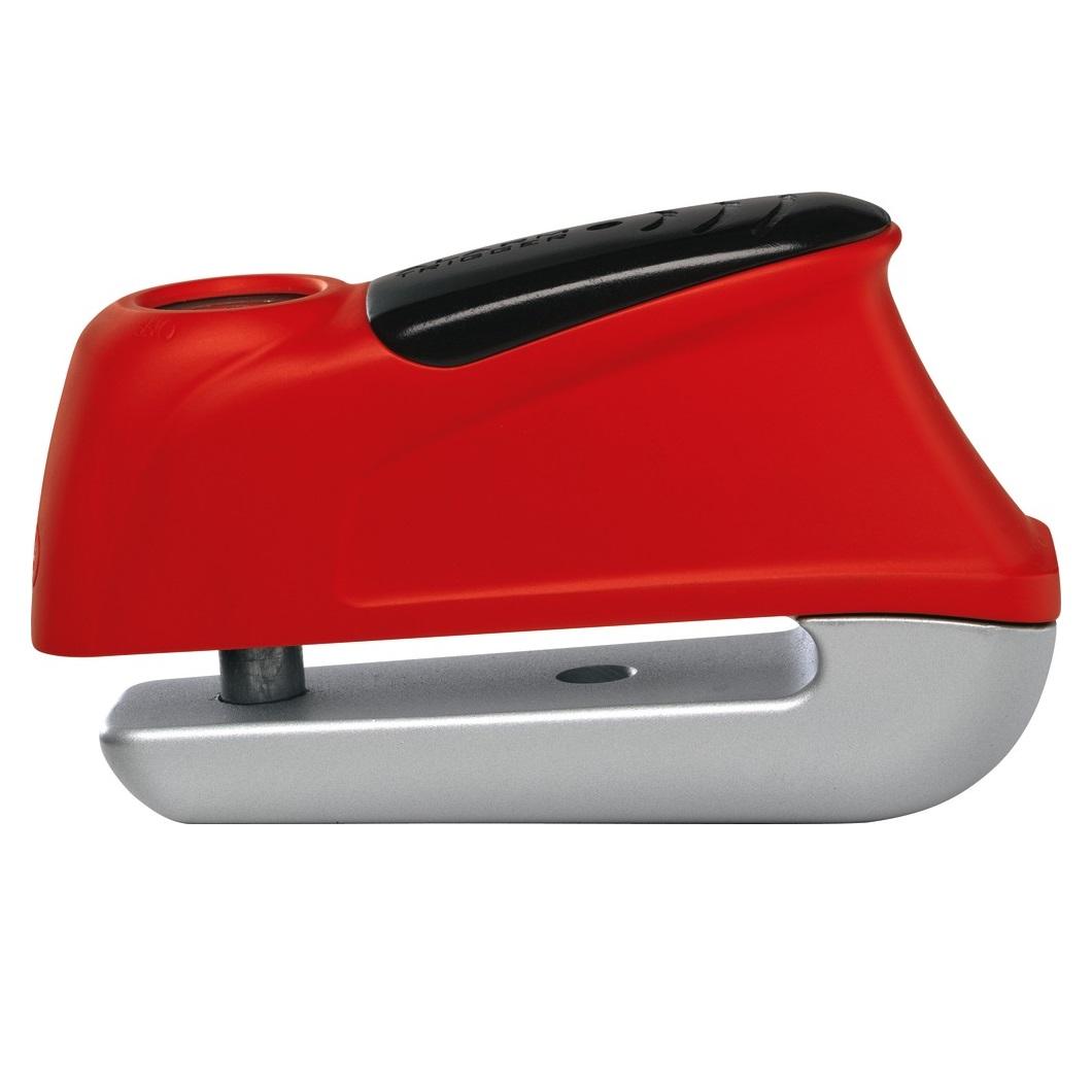Bloccadisco Trigger alarm 350 perno 10mm - Rosso