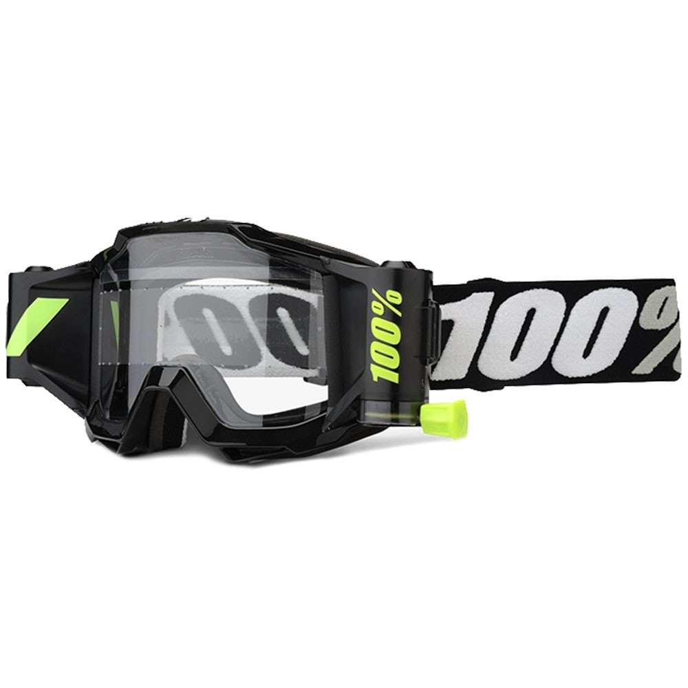 Accuri Forecast Goggle Tornado with 45mm Film System Clear Lens