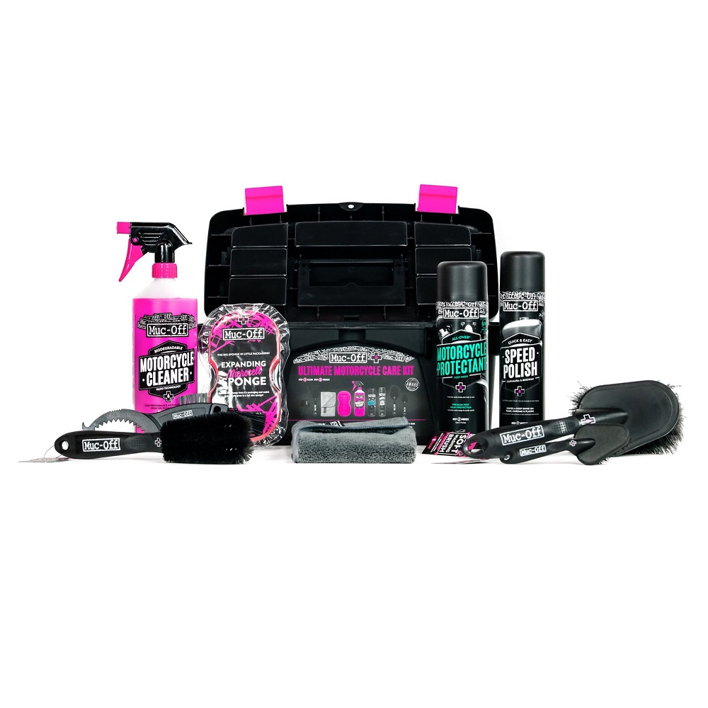 Motorcycle cleaning Ultimate Kit 9 pieces