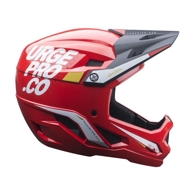 Full-Face MTB Helmet Deltar Red Size S (53-54cm)