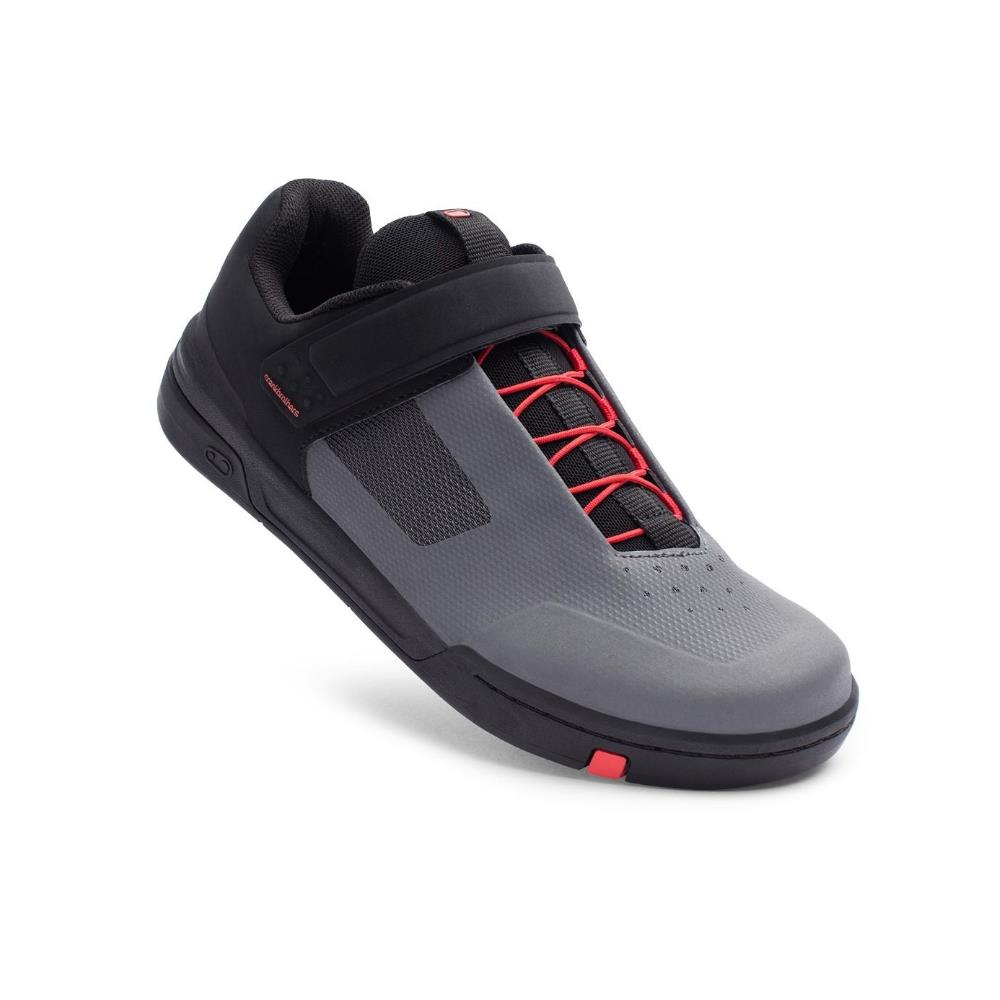 MTB Shoes Stamp Speed Lace Flat Grey/Red Size 37