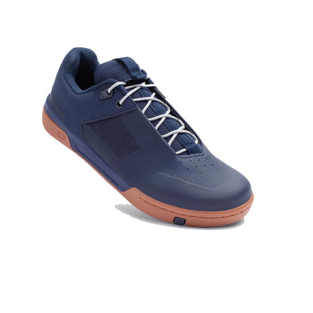 MTB Flat Shoes Stamp Lace Blue Size 37