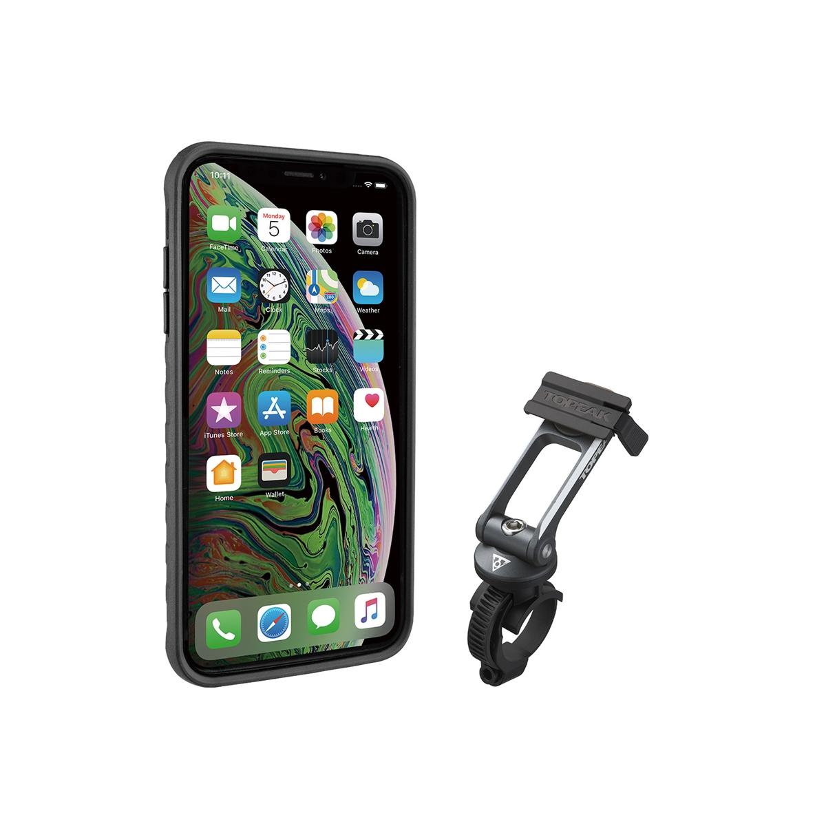 Custodia RideCase per iPhone XS Max Nero/Grigio Supporto Incluso