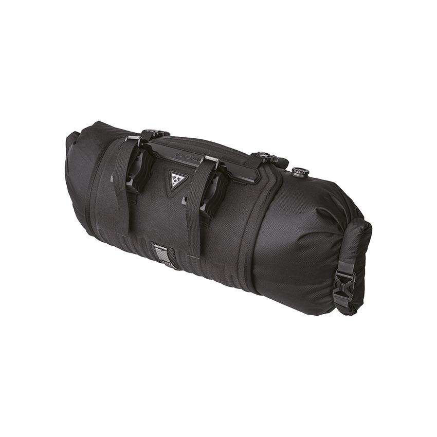 FrontLoader Handlebar Mount Bikepacking Bag 8L Water-Repellent Black