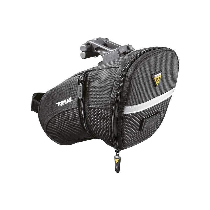 Saddle Bag Aero Wedge Pack Large 1.48-1.97L with Fixer F25 QuickClick