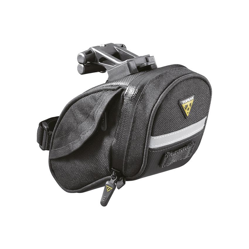 Saddle Bag Aero Wedge Pack DX Medium 0,54L with Fixer F25 QuickClick