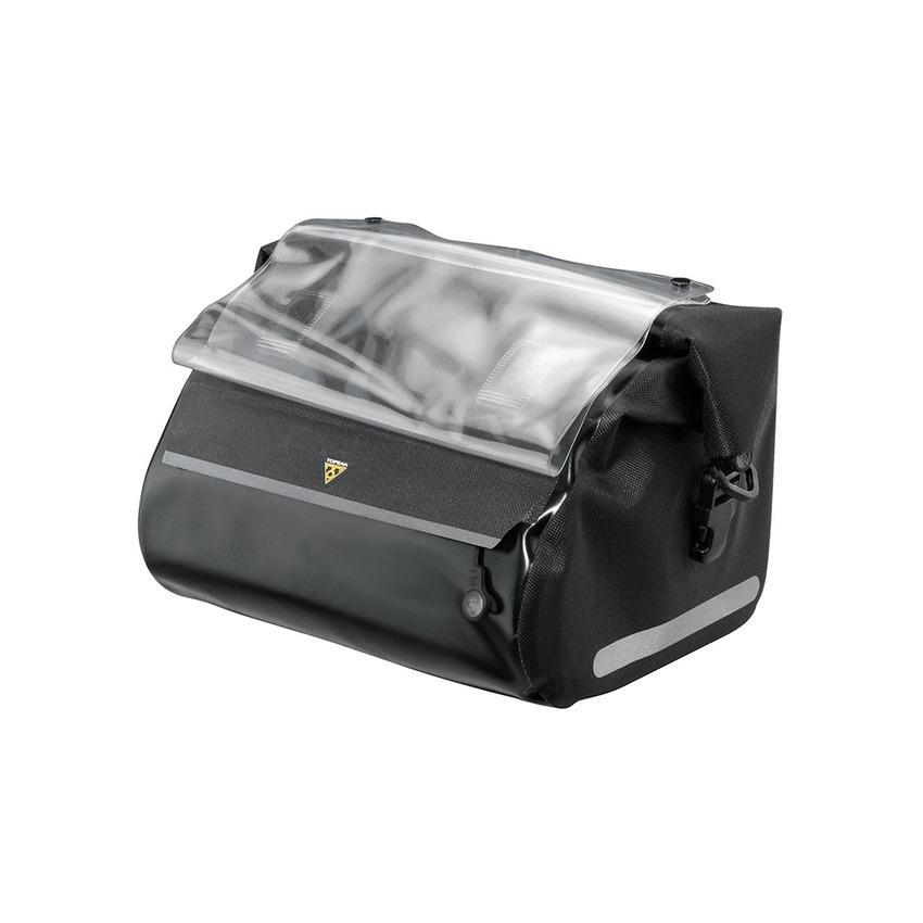 HandleBar Dry Bag 7.5L Water-Repellent QuickClick Fixer 8 Mount Black