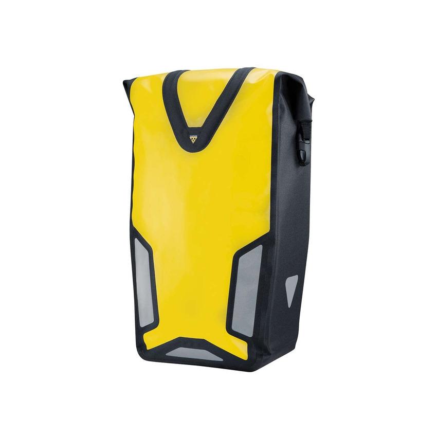 Borsa Laterale Pannier DryBag DX 25L Impermeabile Sistema QuickClick Giallo
