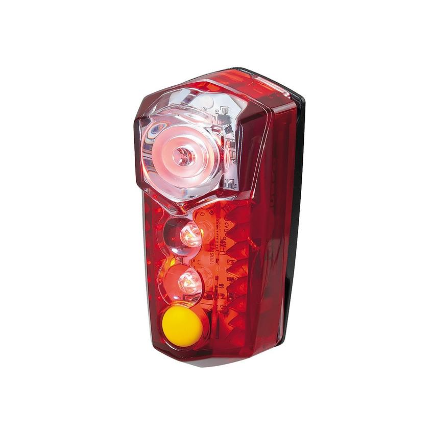 Rear LED Red/Yellow Light RedLite Mega 5 LED 72 lumens