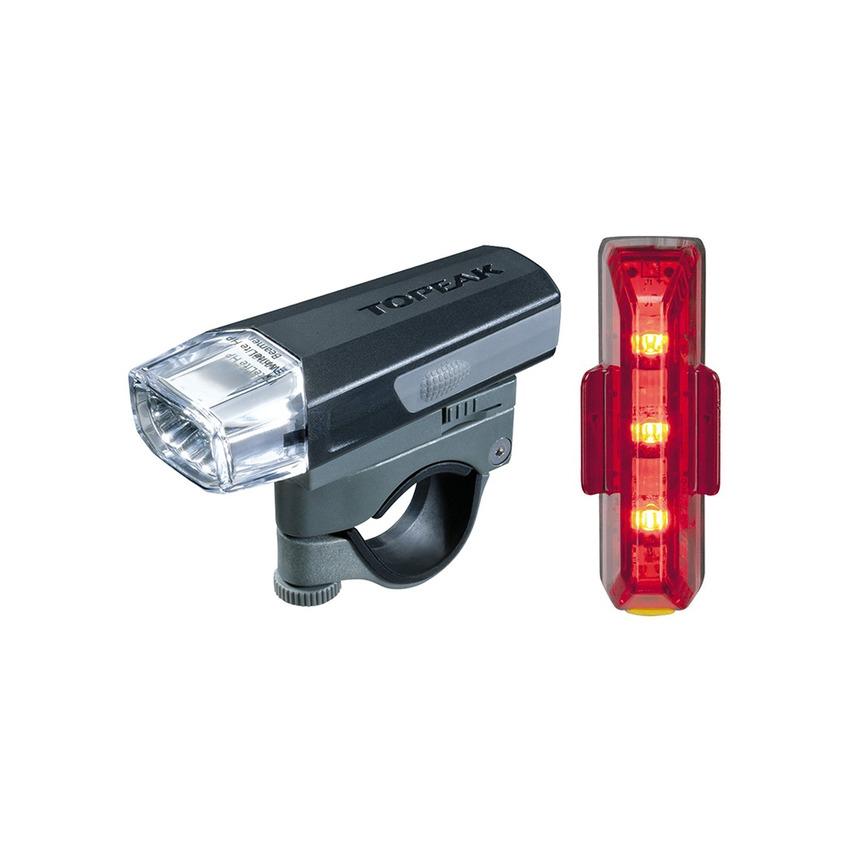 Kit Fanalini Anteriore e Posteriore a LED WhiteLite HP Beamer + RedLite Aero