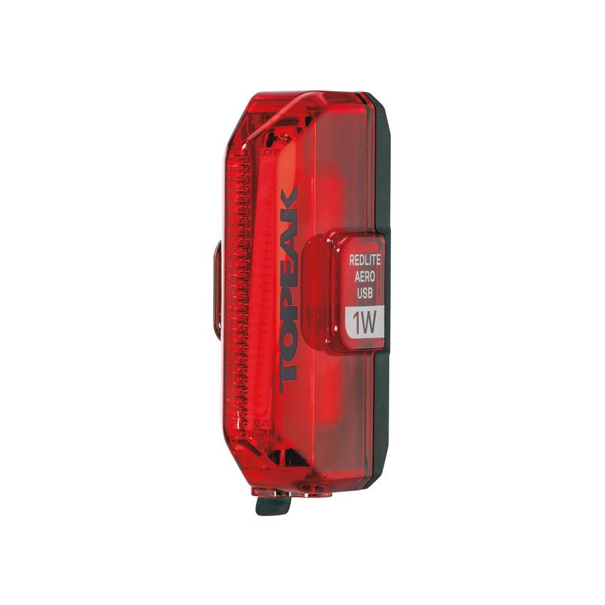 Fanalino Posteriore a Led Rosso RedLite Aero USB 1W Cob Led
