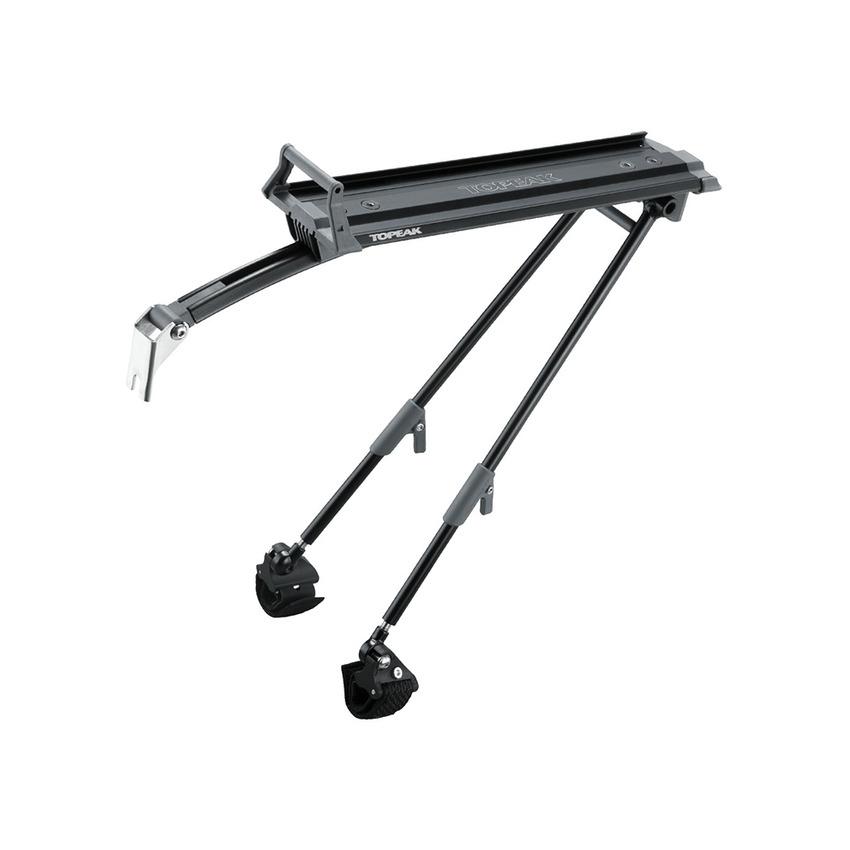 Portapacchi Posteriore Roadie Rack Sistema RX QuickTrack Ruote fino a 700x25C Nero