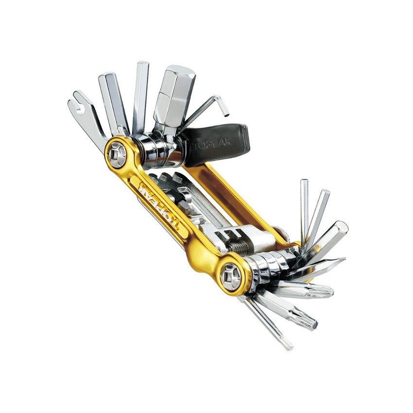 Multitool Mini 20 Pro 23 functions Gold with Tool Bag