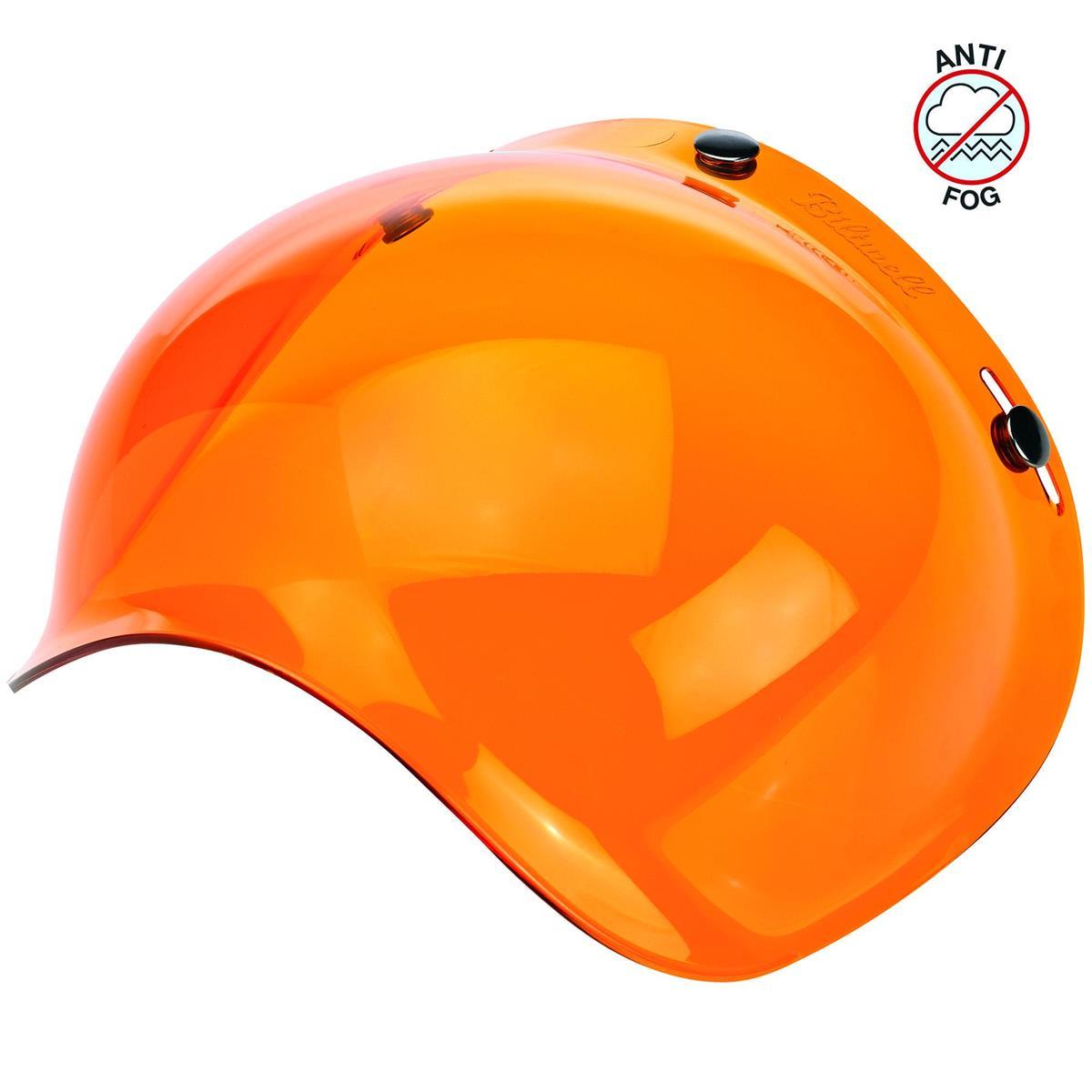 Bubble Shield Anti-Fog 3 Snap Amber