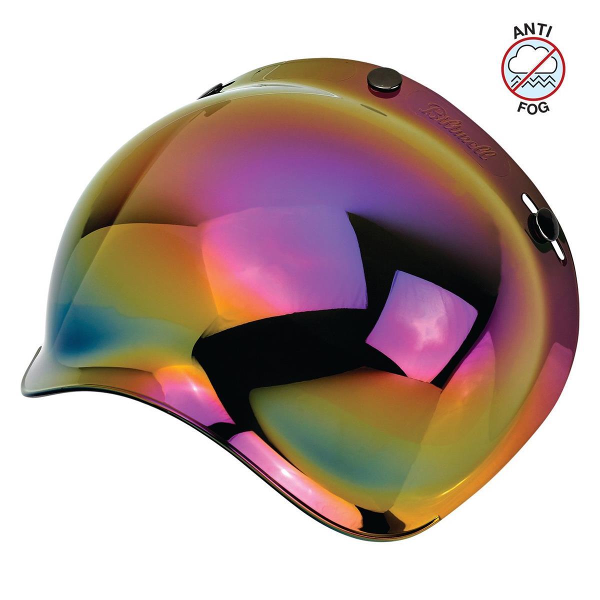 Bubble Shield Anti-Fog 3 Snap Raimbow Mirrror