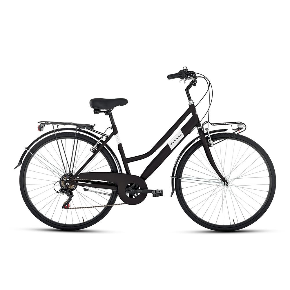 City bike 28'' 6v Donna Nero opaco Taglia 46