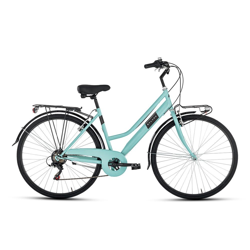 City bike 28'' 6v Donna Azzurro Taglia 46