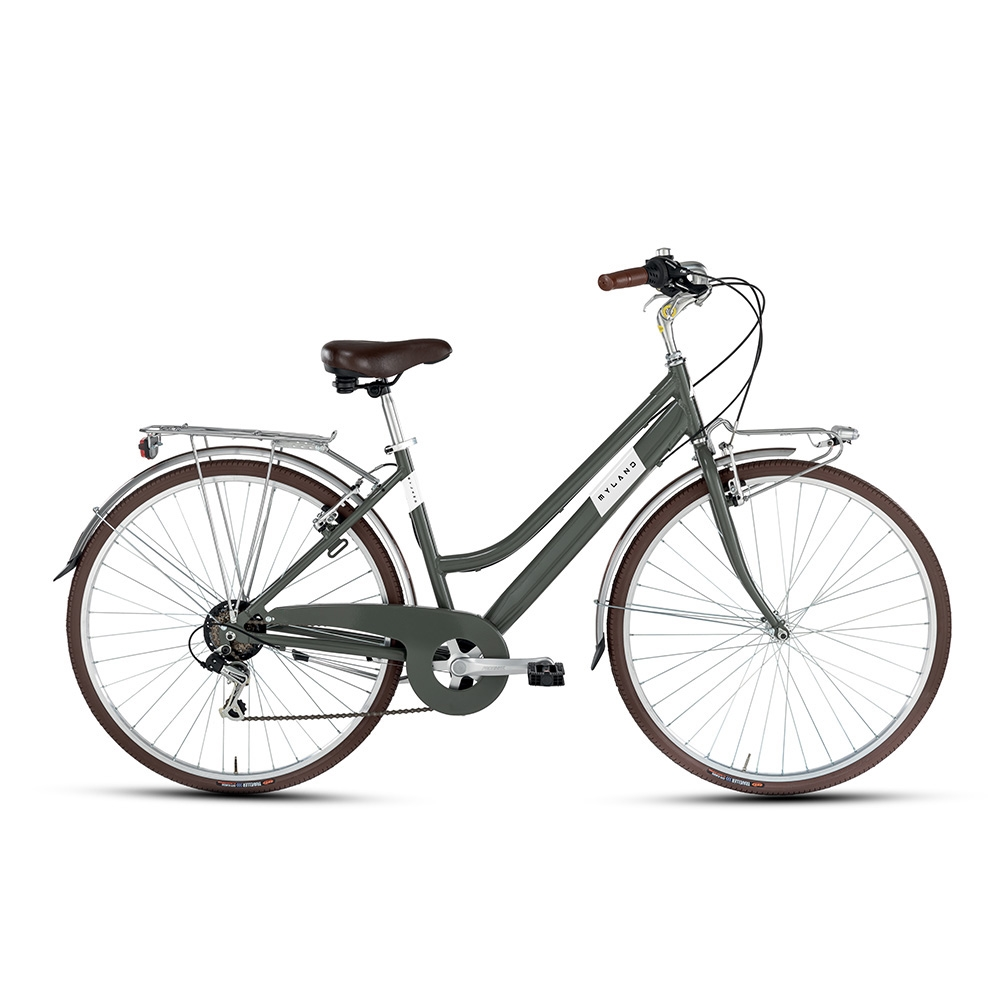 City bike 28'' 6v Donna Verde Taglia 46